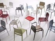 Upholstered stackable chair BAKHITA | Upholstered chair - GABER