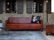 Leather sofa BALTIMORA | Leather sofa - Devina Nais