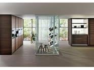 Ergonomic fitted kitchen BANCO - DADA