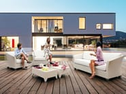 Low rectangular garden side table BARBADOS | Coffee table - Atmosphera