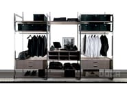 Sectional walk-in wardrobe BARNA TABAC - Doca