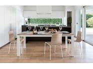 Extending rectangular table BARON | Extending table - Calligaris