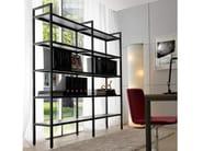 Open open tall metal shelving unit BARTOLO | Bookcase - Quinti Sedute