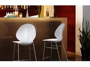 Sled base counter stool BASIL | Sled base chair - Calligaris