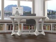 Lacquered Adamantx® office desk BATLLO' - ZAD ITALY