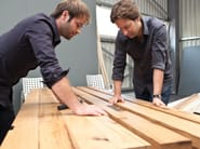 Rectangular wooden dining table BB11 - Janua