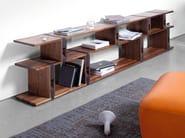 Libreria a giorno componibile in legno BB21 - Janua