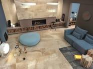 Pavimento/rivestimento in gres porcellanato effetto marmo per interni ed esterni BEIGE EXPERIENCE Royal Beige - Italgraniti