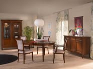 Extending round dining table BELLAGIO - SELVA