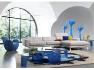 Tavolino ovale BELLS - ROCHE BOBOIS