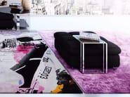Handmade rectangular rug BENZAL CHLORIDE SIENA EDIT - HENZEL STUDIO