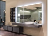 Sectional wall-mounted vanity unit BESPOKE | Wall-mounted vanity unit - Antonio Lupi Design®