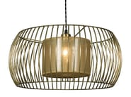 Metal pendant lamp BETA GOLD - Hamilton Conte Paris