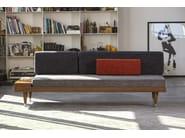 Wooden small sofa BI BACK | Small sofa - Kann Design