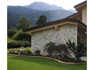 Natural stone finish BIANCO VERDE   Natural stone wall tiles - B&B