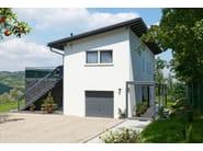 Prefab timber home BIFAMILIARE - Spazio Positivo by Rensch-Haus