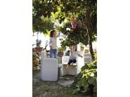 Polyethylene garden armchair with armrests BIG - GANDIA BLASCO
