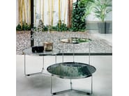 Round crystal coffee table BILLY - Cattelan Italia