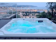 Hydromassage hot tub for chromotherapy 6-seats BL-801 | Hot tub 6-seats - Beauty Luxury