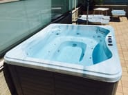 Hydromassage hot tub for chromotherapy 4-seats BL-805 | Hot tub 4-seats - Beauty Luxury