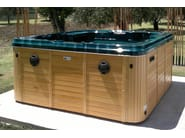Hydromassage hot tub for chromotherapy 5-seats BL-810 | Hot tub 5-seats - Beauty Luxury