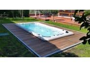 Rectangular swim spa 4-seats BL-823 | Swim spa - Beauty Luxury