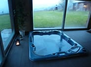 Hydromassage hot tub for chromotherapy 7-seats BL-832 | Hot tub 7-seats - Beauty Luxury