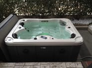 Rectangular hot tub for chromotherapy 3-seats BL-837 | Hot tub - Beauty Luxury