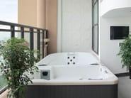 Rectangular swim spa 5-seats BL-858 | Swim spa - Beauty Luxury