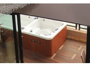 Rectangular swim spa 5-seats BL-858 | Swim spa - Beauty Luxury