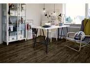 Synthetic material flooring with wood effect BLACK CITY OAK - Pergo