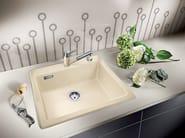 Lavello a una vasca da incasso in ceramica BLANCO PALONA 6 - Blanco