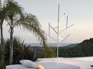 LED aluminium Floor lamp ARBOL BLAU - GANDIA BLASCO