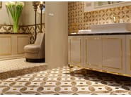 Marble flooring BLOOM 1 - Lithos Mosaico Italia - Lithos