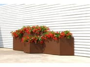 Modular stainless steel planter BLOSS - BLOSS