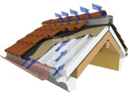 Ventilated roof system BLUAIR - ELLE ESSE