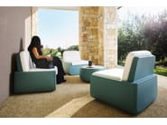 Garden sofa BOLD | Sofa - PLUST Collection by euro3plast
