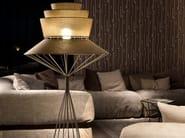 Fabric floor lamp BOLERO | Floor lamp - Cattelan Italia