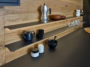 Solid wood kitchen with island BONDI | VALAIS - LEICHT Küchen