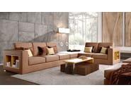 Tavolino basso in legno in stile moderno con vassoio da salotto BONSEKI BRIDGE | Tavolino con vassoio - Caroti
