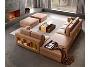 Contemporary style low wooden coffee table with tray for living room BONSEKI BRIDGE | Coffee table with tray - Caroti