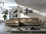 Sofa with chaise longue BOOMER - Egoitaliano