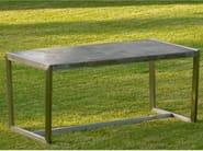 Rectangular garden table BORIS | Garden table - SIT