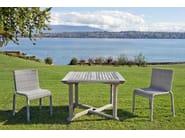 Stackable garden chair BORNEO - Tectona