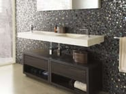Floorstanding wooden bathroom cabinet with drawers BOSTON - L'Antic Colonial