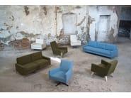 Contemporary style 3 seater upholstered fabric leisure sofa BOSTON SOFA   3 seater sofa - Domingo Salotti