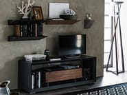 Low lacquered wooden TV cabinet BOXER - Cattelan Italia