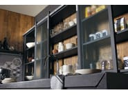 Fitted wood kitchen BRERA 76 - Marchi Cucine