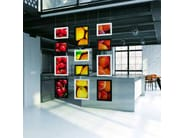 Double-sided retail display unit BRERA | Retail display unit - Caimi Brevetti
