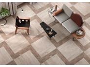 Wall/floor tiles with concrete effect BRIK MOOV MOKA - CERAMICHE KEOPE